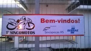 Faixa em Lona - Bastão