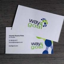 Cartão de Visitas - Impressão Digital